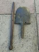 Original Wwii Japanese Army Shovel Collectible Very Scarce