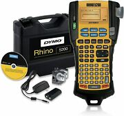 Dymo Rhino 5200 Industrial Label Maker - 22 Tapes Included