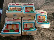 5 Boxes Of Vintage Christmas Bubble Lights Noma Bubbler 15 Replacement Bulbs
