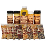 Amish Country Popcorn   8 4 Ounce Variety Gift Sets   Old Fashioned With Recip