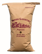 Amish Country Popcorn   25 Lb Bag   Purple Popcorn Kernels   Old Fashioned With