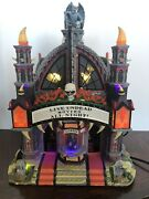 Lemax Spooky Town Collection Halloween Village Mortis Theater Lighted And Animated