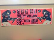 Bikini Kill/pussywillow/oiler At Jabberjaw Signed Concert Poster By Lindsey Kuhn