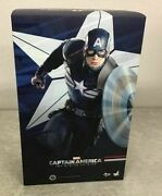 Hot Toys Movie Masterpiece 1/6 Winter Soldier Captain America Stealth Suit Ver