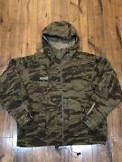 Columbia Gallatin Heavy-duty Camo Hooded Recycled Wool Blend Hunting Jacket L