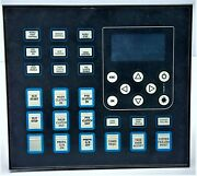 Norisys 4 Mp-12l12b-ad00 Master Control And Display Panel 12iamps/12buttons Stbd