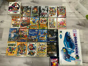Nintendo 64 N64 Japan Game Console Clear Blue Rgb And 22 Amazing Games