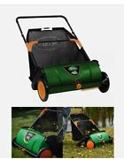 Push Lawn Sweeper Grass Clippings Leaves Collector Scotts 26 Inch Used Once.