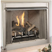 Superior 36 Outdoor Vf Fireplace White Stacked Electronic Valve Ng