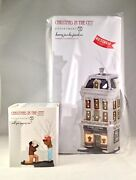 Dept 56 Lot Of 2 Harry Jacobs Jewelers + Will You Marry Me Limited Edition Cic