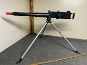 Rare Marx Toy Gun M2 Browning .50 Cal Ma Deuce With Tripod And It Works