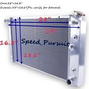 3-row Aluminum Radiator For 1971-1975 Chevy El Camino Caprice Bel Air 28and039and039 Core