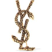 Ysl Saint Laurent Snake Brooch Rare Discontinued Brand New In Box