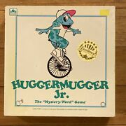 Huggermugger Jr. Mystery Word Junior Game, 1992, Educational For Ages 9-up