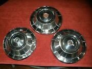 3 1960s 10 Rambler Hubcaps Wheel Covers Dog Dish Poverty 1963 1964 1965 1966 67