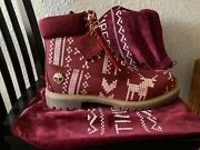 Christmas Limited Rare Boots Complete New Ugly Sweater