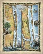 Hutchinson Island Map Print Poster Wall Art Home Decor And Best Gift-unframed