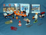 Town City, Coast Guard Sets 60011, 60163, And 60165 - Lego - 2013 To 2017 - Used