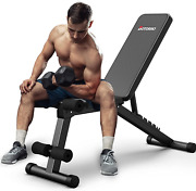 Botorro Adjustable Weight Bench Foldable Strength Training Workout Benches For
