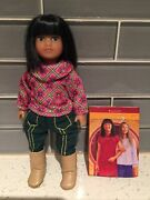 American Girl Ivy Ling Mini Doll  Complete Outfit W/ Underwear