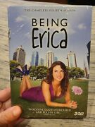 Being Erica The Complete Fourth Season 4 Cbc Canada Tv Show 3-dvd Set Rare Oop