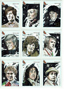 Doctor Who Psc Sketch Card Collection 12 Cards - Artist Carolyn Edwards 1/1