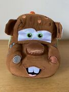Disney Store Exclusive Stamped Cars Tow Mater Plush Soft Toy Pixar 13