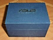 Asus Crystal 3-d Laser Etched Laptop Glass Cube Paperweight In Box