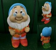 1970s Snow White And 7 Dwarfs Rubber Doll Prompt Decision Vintage Usa Disn