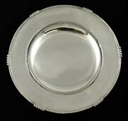 Fine Art Deco Style Sterling Silver Mappin And Webb Compote Pedestal Bowl 9.75