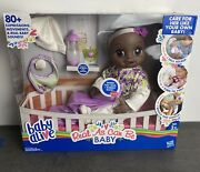 Baby Alive Real As Can Be African American Doll With 80+ Lifelike Expressions