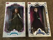 Elsa And Anna Frozen 17 Limited Edition Collector Doll - Low Nos. 55 And 212/5000