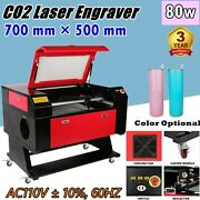 27.5 Andtimes 20 700mmandtimes500mm 80w Co2 Laser Engraving Engraver And Cutter Machines