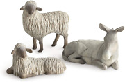 Willow Tree Gentle Animals Of The Stable For The Christmas Story, Sculpted Hand-
