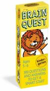 Brain Quest Kindergarten Revised 4th Edition 300 Questions And Answers To Get