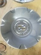 2004-2012 Cadillac Cts Sts Center Caps Oem 9595437 Set Of 4 Hubcaps Chrome