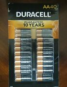 Duracell Copper Top Alkaline Aa Batteries 40 Pack Exp 2030-2031