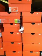 Nike Orange Empty Shoe Boxes Lot Of 100 Mens Replacement Shoes Box Free Shipping
