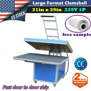 220v 31 X 39in Large Format Textile Thermo Transfer Heat Press Machine 1p