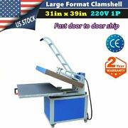 220v 31 X 39in Large Format Textile Thermo Transfer Heat Press Machine 1 Phase