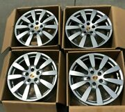 Porsche Cayenne 20and039and039 958 Sport Design Ii Factory Original Wheels 4 With Tpms