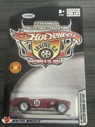 Hotwheels 18th Annual Collectors Convention Shelby Cobra 427 S/c 1/4000 Mint Htf