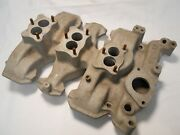Vintage Weiand Tri-power Intake For Early Oldsmobile 303 And 324 -- Part 03d