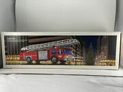 1986 Hess Toy Fire Truck Bank New In Box Free Shipping In The Usa