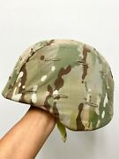 Genuine Us Army Issue Pasgt Helmet With Multicam Cover - Medium