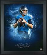 Ryan Tannehill Tennessee Titans Framed Autographed 20 X 24 In Focus Photograph