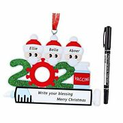 2021 Christmas Ornaments Personalized Christmas Ornaments Family A-family Of 3