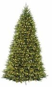 Pre-lit Artificial Christmas Tree | Includes Pre-strung White Lights And 10 Ft