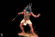 In Stock Set Egyptian God Tin Painted Toy Soldier | Collectible Quality