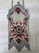 Antique Chain Bag Art Deco Usa American 20and039s Vintage